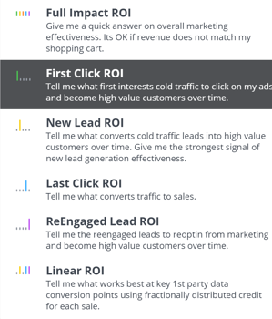 roi-report-attribution-model-filter-first-click-selected