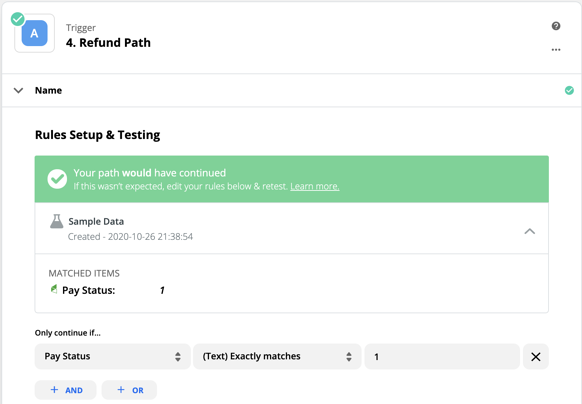 wicked reports How to Create Orders with Zapier