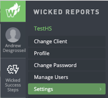 integrate infusionsoft with wicked reports