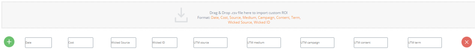 adding other marketing costs wicked reports