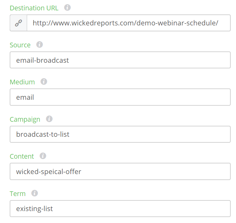 UTM Best Practices and how to build them in Wicked
