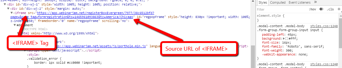 Validate Wicked Tracking Code On Your Pages