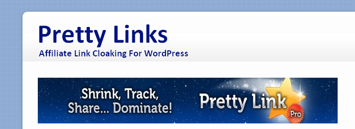 wicked reports Setting up Pretty Links for Tracking