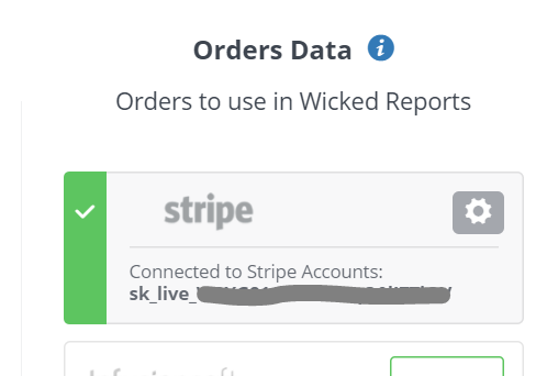 How to integrate Stripe with Wicked Reports