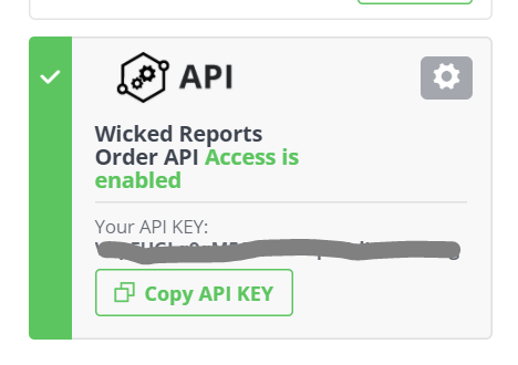 Verify Wicked Reports Has your API Order Data