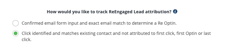 reengaged lead attribution setting wicked reports