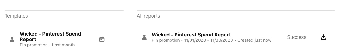 wicked reports tracking Pinterest for Lead and Sales attribution